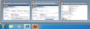 เปิดใช้งาน Taskbar Preview ใน Firefox 3.6 ใน Windows 7