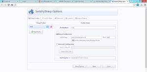 SwitchySharp Proxy Profiles